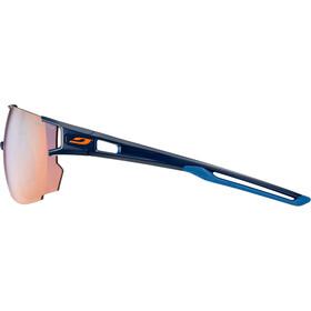 Julbo Aerospeed Segment Light Red Lunettes de soleil, dark blue/dark blue/orange-multilayer blue
